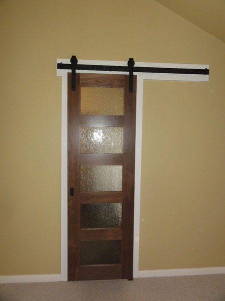 Bathroom Barn Doors Mhm Remodeling