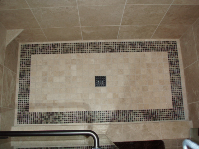 and pan floor treating shower rocks choosing