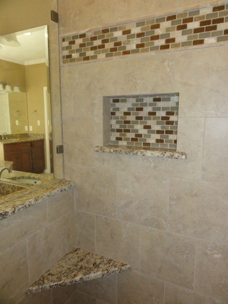 Shower Tub Niches Remodeling Images Austin Tx Mhm