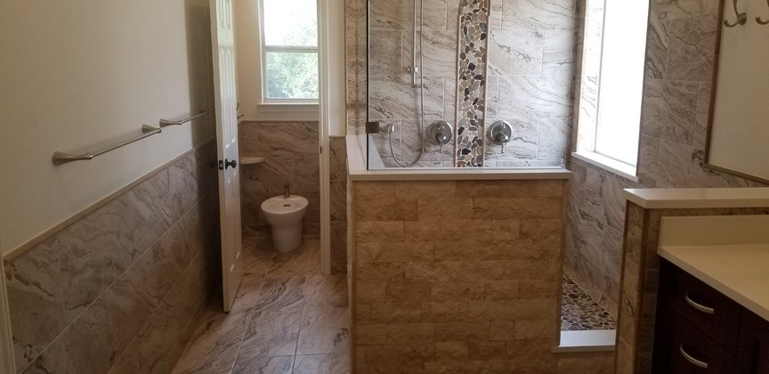 The Croughet Family Master bathroom remodel