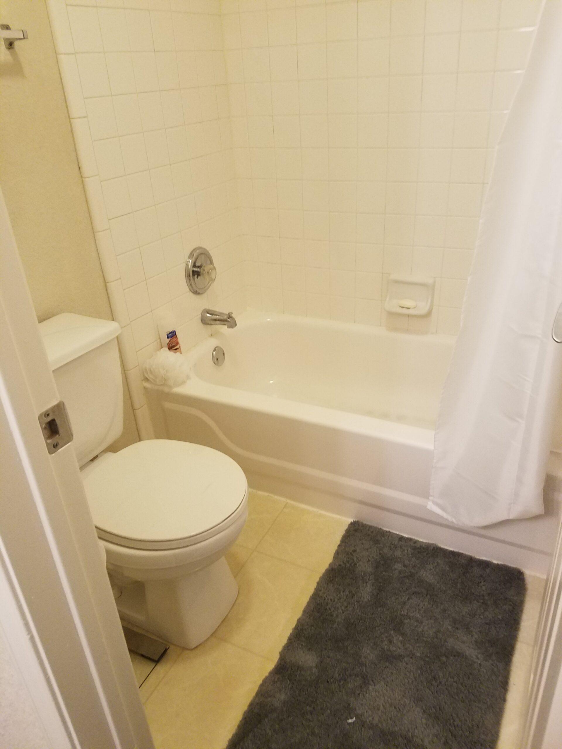Mr. & Mrs. Shines medium hall bathroom