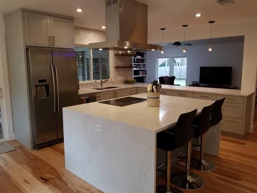 Mr. & Mrs. Caperton full kitchen remodel