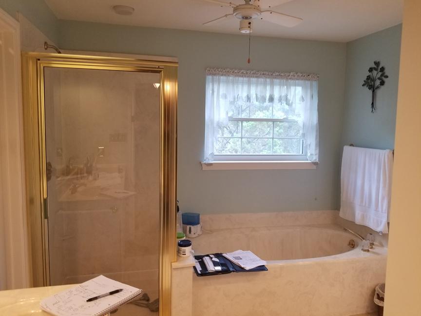 Mr. & Mrs. Jett Master bathroom remodel