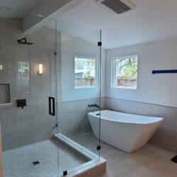 Mr. & Mrs. Mcleod Master bathroom remodel