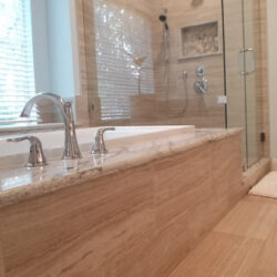 Mr. & Mrs. Journey Master bath tub & shower